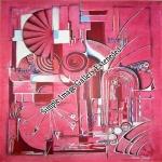 Klangspirale  -  50x60cm