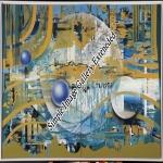 Luftspiegelung  -  120x80cm Doppelbild