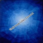Blauer Kristall  -  45x32cm